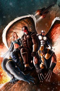 X-Men  by Riccardo Fasoli