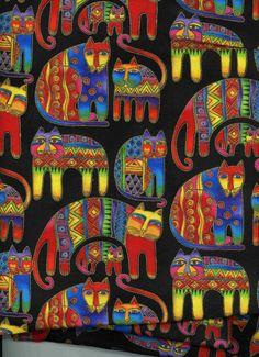 Laurel Burch Colorful Felines