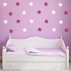 Stars L And Stick Wall Decals Set Of 20 By Countrycrafts14 Mirror Floor Nursery Stickers