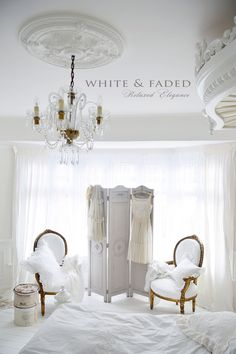 White French bedroom
