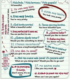 What is flirt in spanish