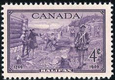 King George VI Canada 1949 Bicentenary of Halifax, Nova Scotia