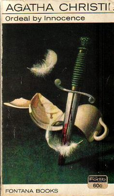 Ordeal by Innocence by Agatha Christie... cover art Tom Adams