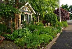 ust one hour north of New York City by train, situated on a lush tree-filled plot in Suffern, NY is a beautiful 1934 stone cottage that's been transformed into a comfortable and sustainable modern home  Read more: Green Country Cottage For Sale Just North of NYC in Suffern, NY Stone Cottage for sale in Suffern, NY – Inhabitat New York City
