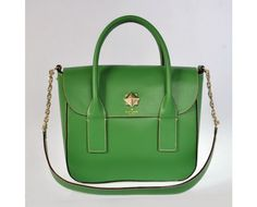 31c37c995a535 Recommend Kate Spade New York New Bond Street Florence Leather Satchel Bag  Green Unique Gifts For