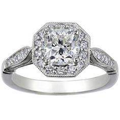 Victorian Halo Ring, love the vintage feel!!!  From Brilliant Earth!  LOVE this ring!!!