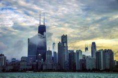 Chicago Skyline - http://www.1pic4u.com/blog/2014/09/07/chicago-skyline-3/
