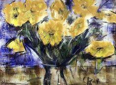 Christian Rohlfs:Yellow Flowers, 1924