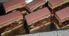 Biscotti Cookies, Cake Cookies, Coconut Desserts, Hungarian Recipes, Hungarian Food, Nutella, Cake Recipes, Sweet Tooth, Bakery