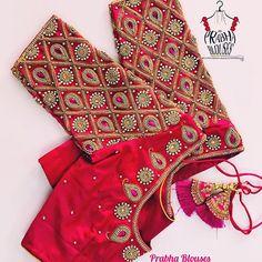 Cutwork Blouse Designs, Wedding Saree Blouse Designs, Fancy Blouse Designs, Hand Work Blouse Design, Stylish Blouse Design, Designer Blouse Patterns, Kurti Patterns, Blouse Neck, Hello Sunshine