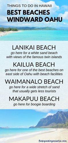 Latest Free of Charge Oahu Hawaii kayak Ideas Oahu Hawaii is the single most common holiday spots on the globe, along with if you get to go to maui heaven y. Best Island Vacation, Hawaii Vacation, Hawaii Travel, Beach Trip, Beach Travel, Vacation Ideas, Hawaii Honeymoon, Mexico Travel, Spain Travel