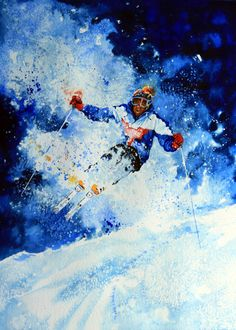 Sports Art Paintings And Prints By Hanne Lore Koehler