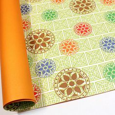 8 sheets wrapping paper for Christmas, Birthday, Thanks giving day : Korean traditional pattern 14