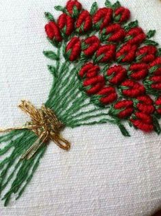 Wonderful Ribbon Embroidery Flowers by Hand Ideas. Enchanting Ribbon Embroidery Flowers by Hand Ideas. Brazilian Embroidery Stitches, Hand Embroidery Videos, Hand Embroidery Flowers, Flower Embroidery Designs, Learn Embroidery, Silk Ribbon Embroidery, Hand Embroidery Patterns, Embroidery Kits, Flower Patterns