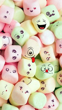 Pin Image by gatoloco Art Smile Wallpaper, Cute Pastel Wallpaper, Cute Emoji Wallpaper, Flower Phone Wallpaper, Cute Disney Wallpaper, Cute Wallpaper Backgrounds, Cute Cartoon Wallpapers, Pretty Wallpapers, Cellphone Wallpaper