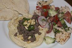Dish and Tell Blog // Hummus Kawarma (Lamb) with Lemon Sauce and Na ...