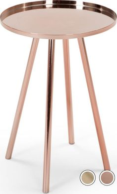 Alana Bedside Table, Copper from Made.com. Metallic. Express delivery. What's not to love about the copper trend? It complements so many colour sche..