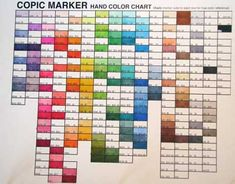 Copic Organization and Swatch Books (with free downloads!)