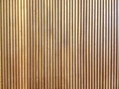 wood panel detail (Haggerston school, London, designed by Erno Goldfinger) Wooden Slats, Wall Finishes, Sound Design, Wood Paneling, Wood Wall, Interior Inspiration, It Is Finished, Flooring, Stone