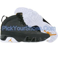 reputable site ccf8f b00e2 Air Jordan 9 IX Retro (black   citrus   white) 302359-004 -  84.99.  PickYourShoes · Kids
