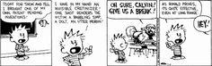 Calvin's new invention