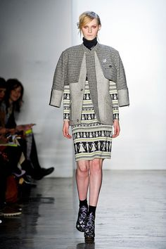 A look from Suno - Fall 2012