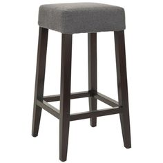 Black Grain and Grey Fabric 24-in Barstools (Set of 2) | Overstock.com Shopping - The Best Deals on Bar Stools
