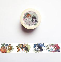 Card Captor Sakura Washi Tape Pure Flower by StickerdoodleShop