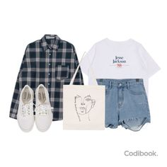 Korean Fashion Summer Casual, Daily Look, My Wardrobe, My Books, Personal Style, That Look, Ootd, Style Inspiration, Fashion Outfits