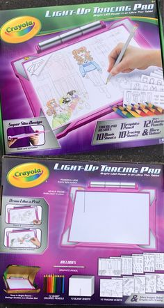 other kids drawing and painting 160718 light up tracing pad led