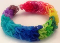Rainbow Loom Bracelet Rubber Band Every Color Twistz Fun Crazy New