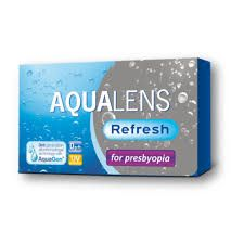 AQUACLENS Refresh for Presbyopia 3pack - 34.00€ - Μηνιαίος πολυεστιακός μαλακός φακός επαφής, σιλικόνης υδρογέλης για τη πρεσβυωπία. Είναι κατασκευασμένοι με την μέθοδο  AquaGen™, μια πατενταρισμένη διαδικασία που, σε αντίθεση με άλλα υλικά σιλικόνης υδρογέλης, παράγει ένα φακό  που είναι ενδογενώς διαβρέξιμος χωρίς την ανάγκη επιφανειακής επεξεργασίας ή την προσθήκη παραγόντων ενυδάτωσης. Ασφαιρικός σχεδιασμός. Προστασία UV.