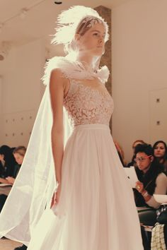 Reem Acra Bridal Fall 2014. / Wedding Style Inspiration / LANE