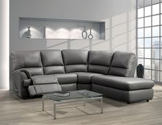 Canadian made reclining sectional