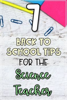 Back to school tips for the science teacher. I'm sharing new ideas for classroom management, classroom decor, supplies, ice breakers, and ways to build personal relationships with your students during the first week of school. New and easy ways to engage your 4th, 5th, and 6th grade science students this back to school season without breaking your budget. #science #backtoschool #upperelementary # middleschool Classroom Jobs, Science Classroom, Teaching Science, Life Science, Teaching Tools, Classroom Management, Classroom Decor, Teaching Ideas, Middle School Hacks