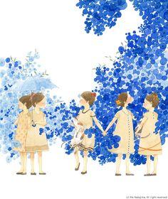 Illustrator: Nakajima Rie from Japan  http://nakajimarie.com/