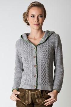 Trachtenjacke                                                                                                                                                                                 Mehr Crochet Pullover Pattern, Knit Crochet, Traditional Jacket, Hand Knitted Sweaters, Jacket Pattern, Knitting For Beginners, Knit Jacket, Lederhosen, Knitting Patterns