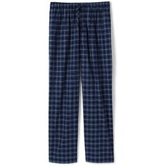 Lands' End Men's Tall Broadcloth Pajama Pants ($40) ❤ liked on Polyvore featuring men's fashion, men's clothing, men's sleepwear, blue, lands end mens clothing, mens sleep pants, tall mens clothing and men's apparel