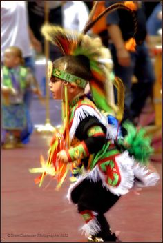 Catawba Pow-wow, 2012 — Native American Child by RufusZulu, via Flickr