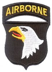 #101st #AIRBORNE DIVISION #PATCH