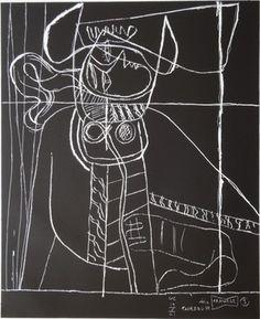 """Le Corbusier (1887-1965) """"série Panurge"""" No 1961/62. 3"""