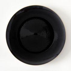 Gibson Home Paradiso 11-Inch Dinner Plate in Black | November Dinner ...