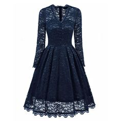 769f845ce161d3 online shopping for GlorySunshine Women s Retro Floral Lace Short Sleeve  Vintage Swing Cocktail Bridesmaid Dress from top store.