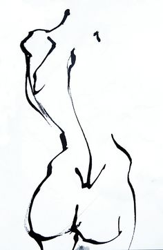 Life Drawing by Gaëtan Bernede, via Behance