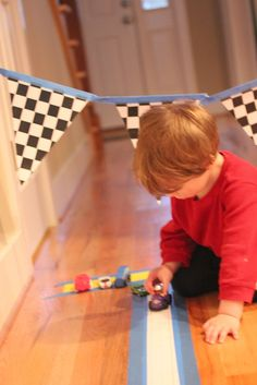 Repeat Crafter Me: Sentence Strip Race Track