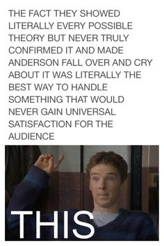 Haha, probably very true! But I also have the theory that since it was not confirmed, we still don't know the REAL ANSWER. And I think that the REAL ANSWER includes how Moriarty faked his death.