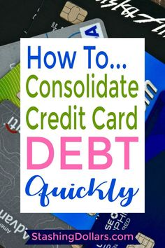 Got credit card debt? Wondering what your options are? Find out more about how t… Got credit card debt? Wondering what your options are? Find out more about how to consolidate credit card debt and how to live free from debt. Credit Card Hacks, Best Credit Cards, Credit Score, Chase Credit, Credit Check, Credit Rating, Debt Repayment, Debt Payoff, Debt Consolidation