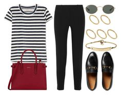 """""""#14753"""" by vany-alvarado ❤ liked on Polyvore featuring Altuzarra, Madewell, Gucci, Ray-Ban, Made, MICHAEL Michael Kors and Furla"""