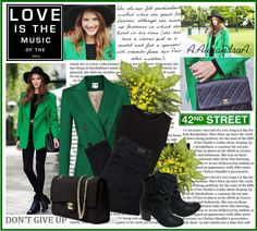 """""""Green"""" by szansza ❤ liked on Polyvore"""