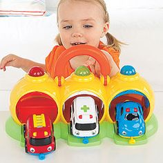 Toddler Toy Emergency Center and Vehicles